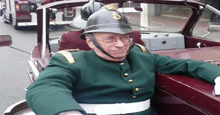Falleció Voluntario Insigne del Cuerpo de Bomberos de Santiago