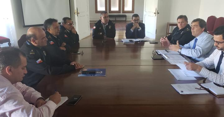 Bomberos de Chile se reúne con la Subsecretaría del Interior para analizar temas afines