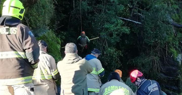 Sistema Nacional de Operaciones se activó por desaparición de persona en Río Liquiñe