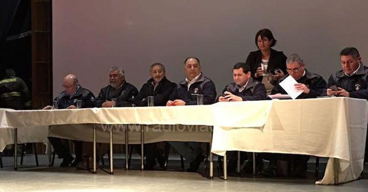 Consejo Regional de Bomberos de la Araucanía sesionó en Angol
