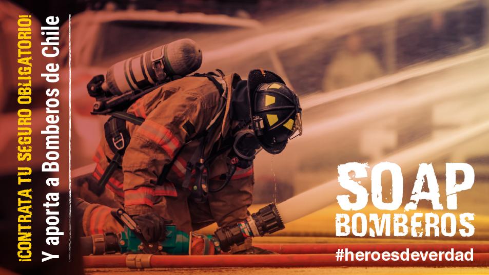 Ya comenzó la campaña SOAP Bomberos 2021