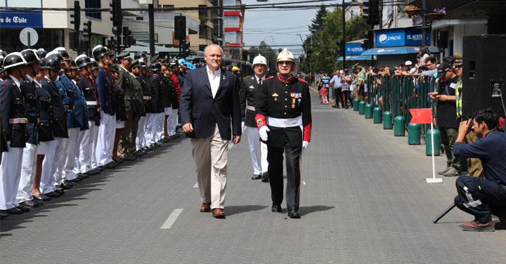 Importantes anuncios durante el 119º aniversario del Cuerpo de Bomberos de Temuco