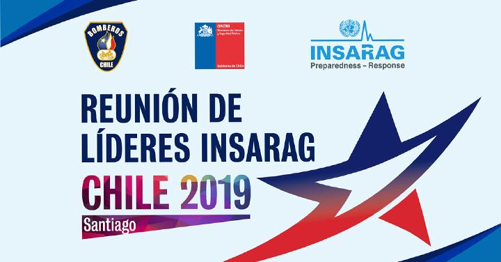 Bomberos de Chile encabezará reunión de Líderes de Búsqueda y Rescate INSARAG 2019