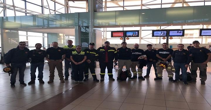 Sistema Nacional de Operaciones moviliza bomberos para apoyar labores de extinción de incendios en Aysén