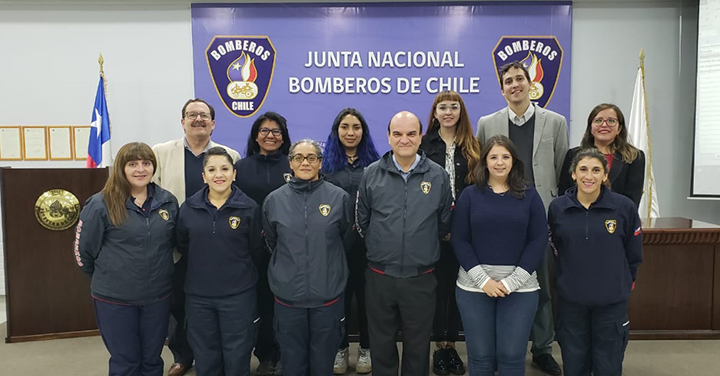 Bomberos de Chile constituyó Comisión de Género para elaborar protocolo en contra del acoso y abuso sexual