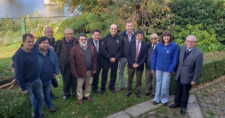 Bomberos de Chile fortalece alianza con el CORE de Los Ríos