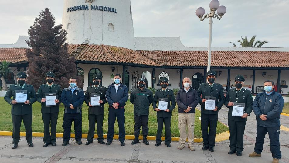 FDC realizó capacitación a funcionarios de Gendarmería