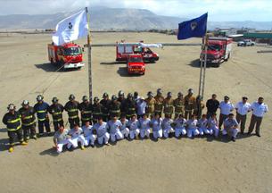 Segunda Compañía de Mejillones dio la bienvenida a nuevos voluntarios