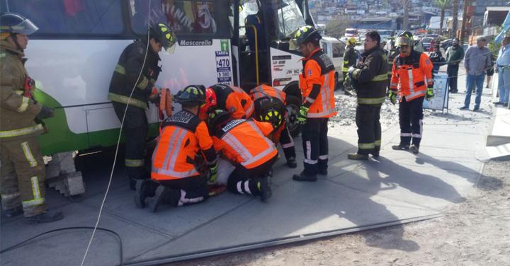 Dos accidentes movilizaron a Bomberos de Iquique