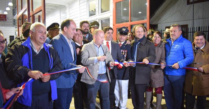 Cuarta Compañía de Coñaripe inauguró nuevo cuartel