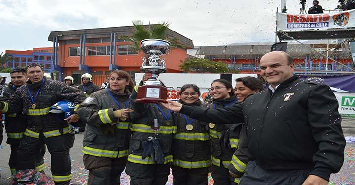 Huracanes del Desierto y Cuerpo de Bomberos de Antofagasta son los ganadores del Desafío Bomberos de Chile Zona Norte 2018