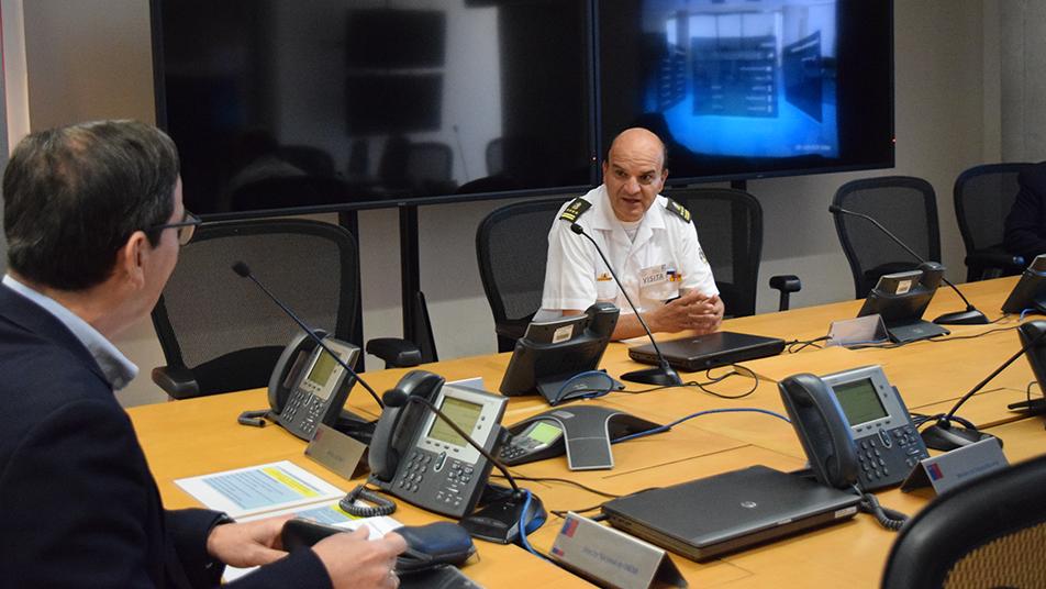 Asegurar stock crítico para una primera respuesta: Reunión Bomberos de Chile - ONEMI