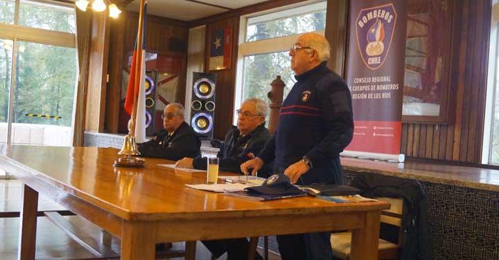 Reunión de Bomberos Insignes de la Región de Los Ríos