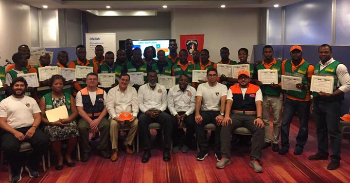 Finalizó primera etapa del programa CERT en Haití