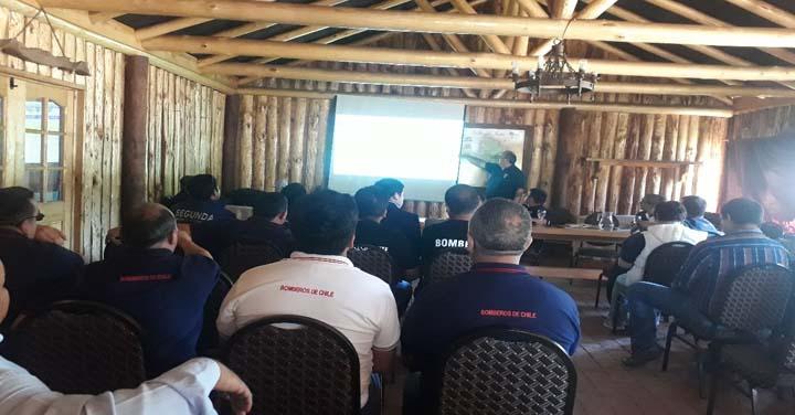 Bomberos de Ñuble realizaron primera Asamblea Regional Ordinaria