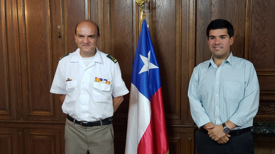 Gestiones para Bomberos de Taltal realizó el Presidente Nacional en reunión con Ministro de Bienes Nacionales