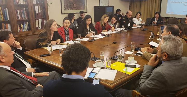 Presidente Nacional expuso en el Congreso Nacional el protocolo bomberil ante denuncias de acoso o abuso sexual