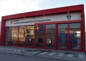 Voluntarios de 3° Cía de Concepción ya cuentan con su nuevo cuartel