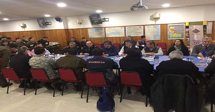 El Presidente del Consejo  Regional de Magallanes participó en ejercicio Volcano X
