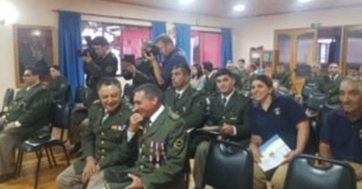 Entregan certificados ANB en Cuerpo de Bomberos de Santa Cruz