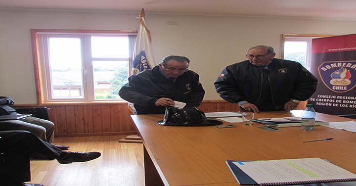 Elección de Directiva del Consejo Regional de Bomberos de Los Ríos