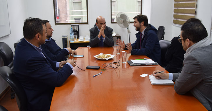 Presidente Nacional participó en reunión con Fundación Paz Ciudadana