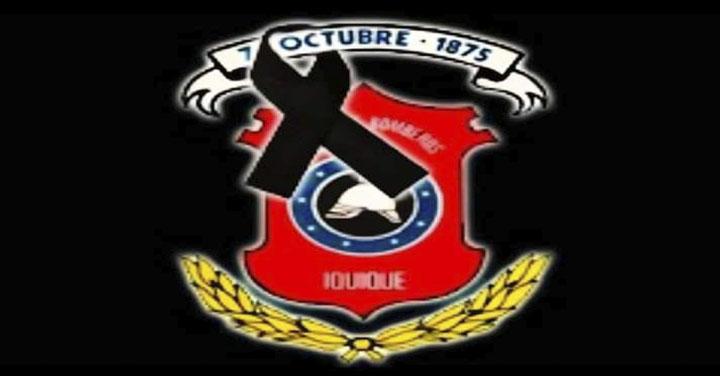 Pesar por fallecimiento de Bombero Honorario de Iquique