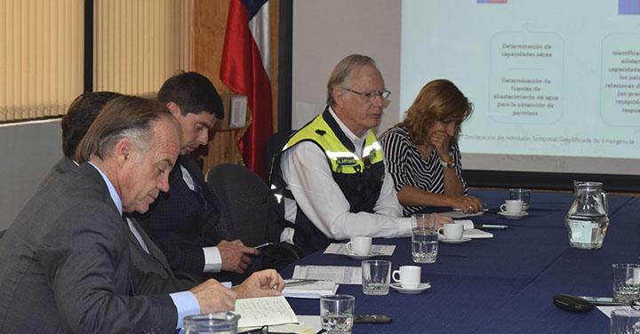 Punto Focal Nacional participó en evaluación del Programa Operativo de Incendios Forestales