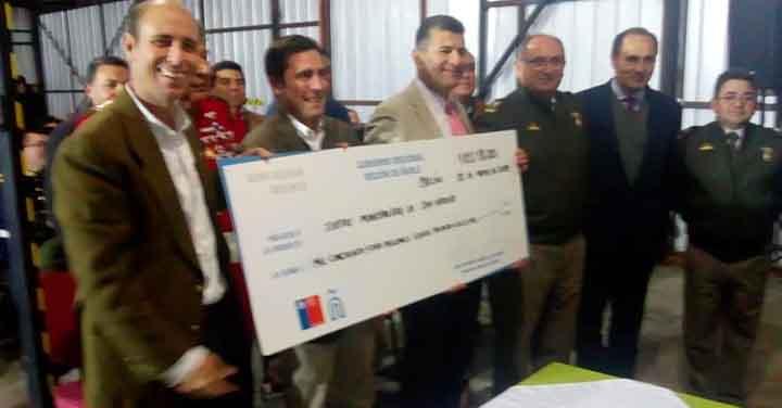 CORE de Ñuble entregará recursos para construcción de cuartel de Bomberos de San Nicolás