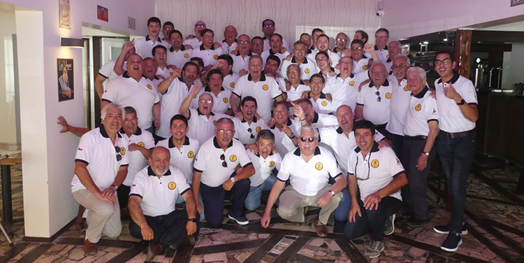 Cuerpo de Bomberos de Arica homenajeó en vida a su ex director, Julio Burich