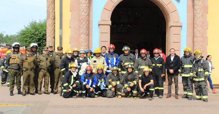 Casino Colchagua realizó simulacro de incendio