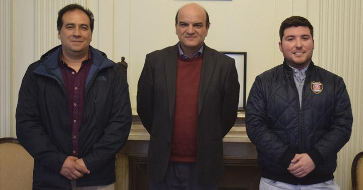 Presidente Nacional se reunió con Bomberos de Arauco y San Esteban