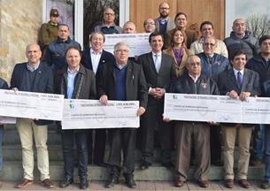 Gobierno Regional entregó 982 millones a Bomberos de Los Ríos