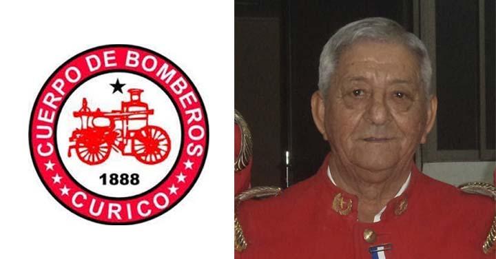 Falleció Voluntario Insigne del Cuerpo de Bomberos de Curicó