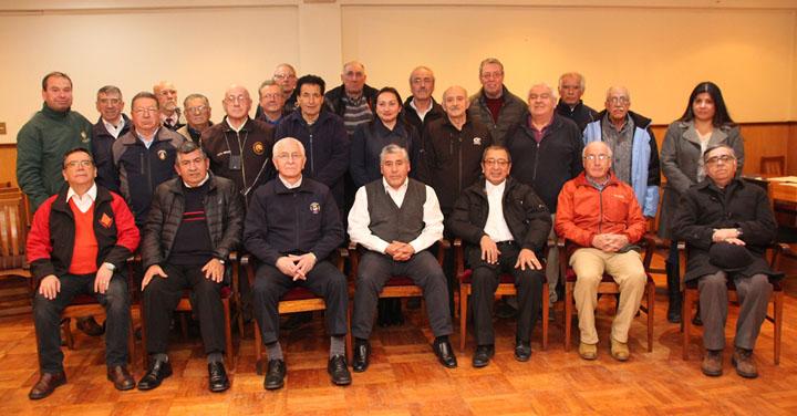 Bomberos de Temuco fundaron el primer Club del Adulto Mayor para los voluntarios