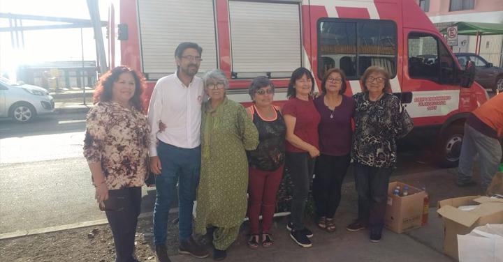 Antofagasta recibe colaboración de la región para cubrir las emergencias