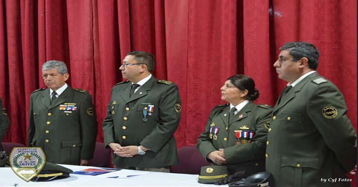 Bomberos de Olivar celebró su aniversario 49