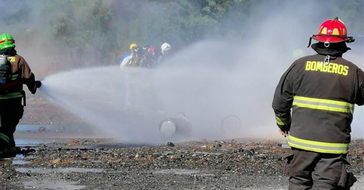 Exitoso curso de materiales peligrosos en Pitrufquén