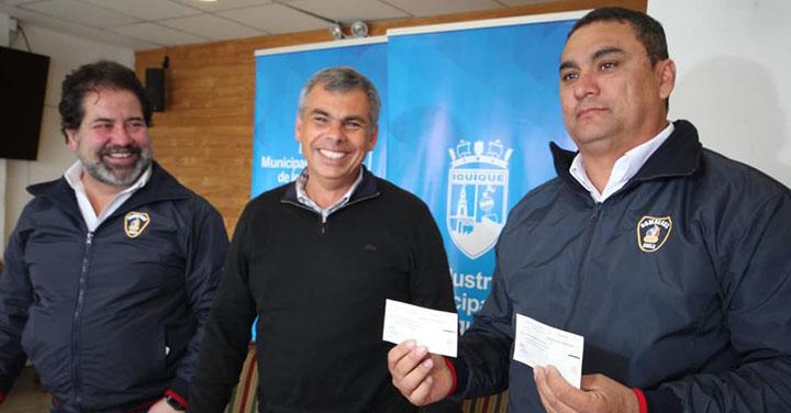 Cuerpo de Bomberos de Iquique recibió subvención municipal