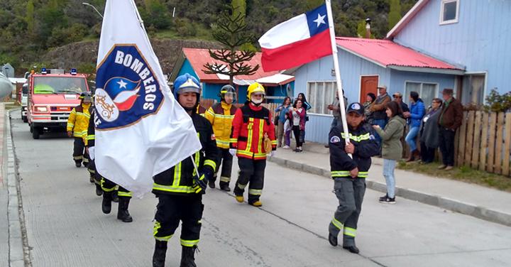 Nueva Brigada de Cerro Castillo participó en feria de servicios e instituciones públicas