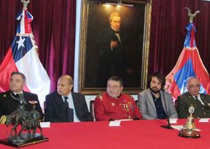 Sesión Solemne 166º aniversario Cuerpo de Bomberos de Valparaíso
