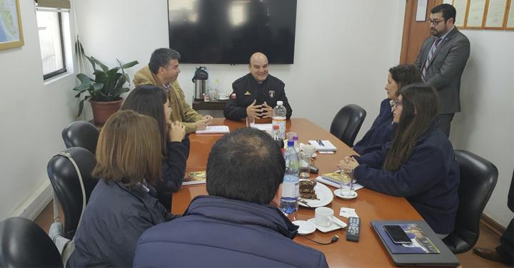 Inducción a los jefes de operaciones y secretarias de Antofagasta, Coquimbo, Ñuble y Metropolitana