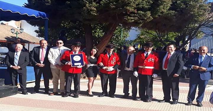 Bomberos fue homenajeado por la Municipalidad de Curepto
