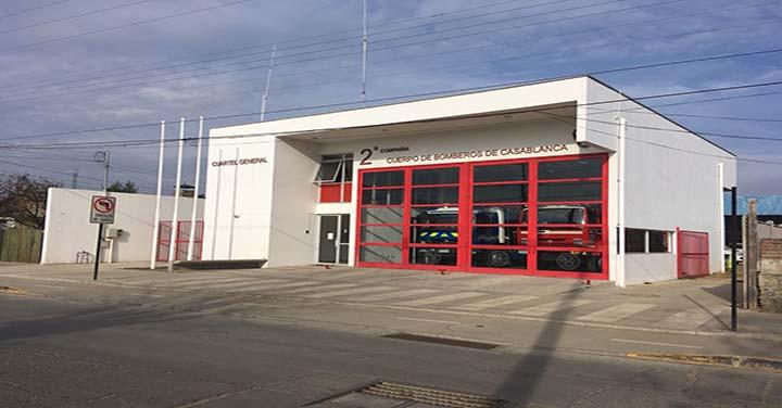 Transmisión online miércoles 27: inauguración de cuarteles Casablanca y Quilpué