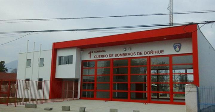 Inaugurado cuarteles de Bomberos de Curicó y Doñihue