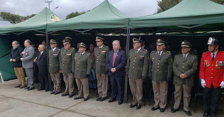 Presidente Nacional de Bomberos realizó recorrido por Provincia de Chiloé