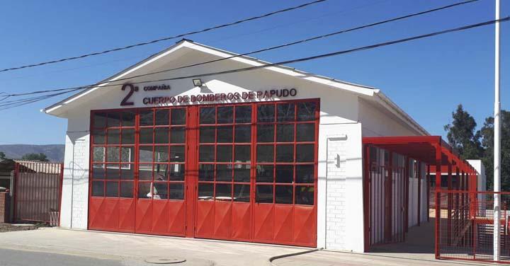Transmisión online viernes 6 de abril: inauguración cuartel 2ª Compañía del Cuerpo de Bomberos de Papudo