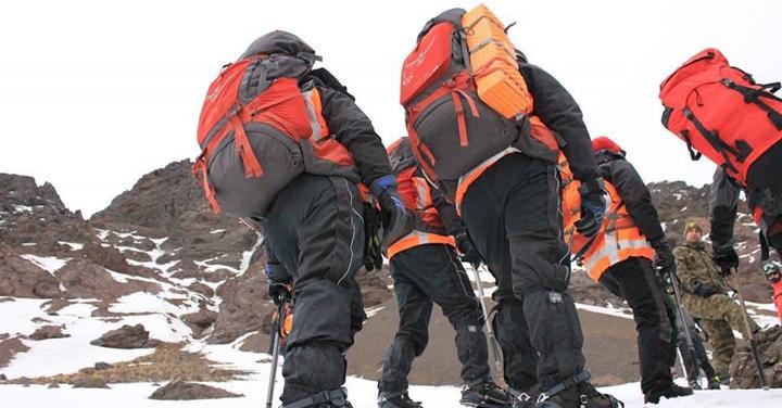 Cuerpo de Bomberos de San Esteban realizó capacitación en rescate agreste