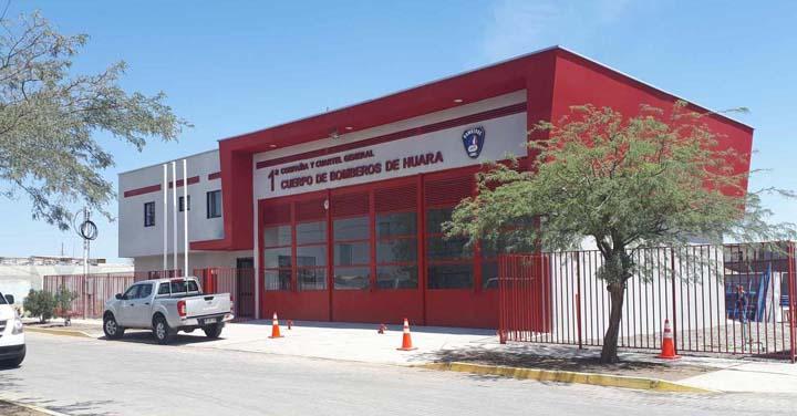 Transmisión online lunes 18: inauguración cuarteles Pozo Almonte y Huara