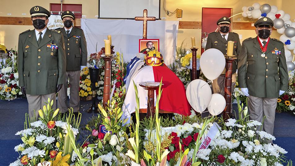 """""""Su ausencia se traducirá en múltiples acciones para preservar su memoria"""" Presidente Nacional en ceremonia de mártir"""
